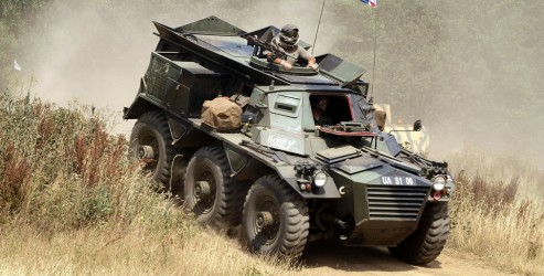 Tactical vehicle design | light weight steering parts