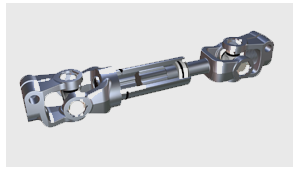 Sliding steering shaft products