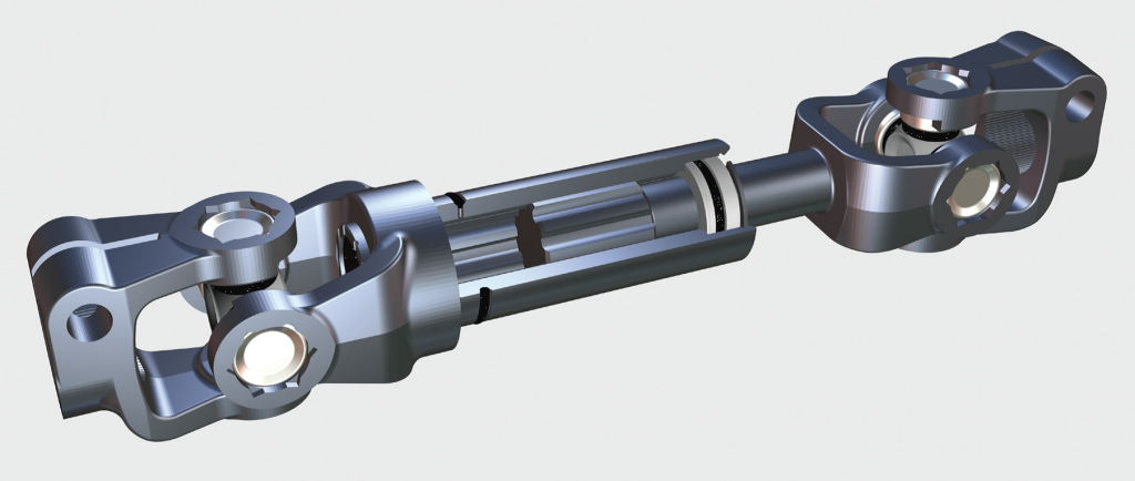 sliding steering shafts