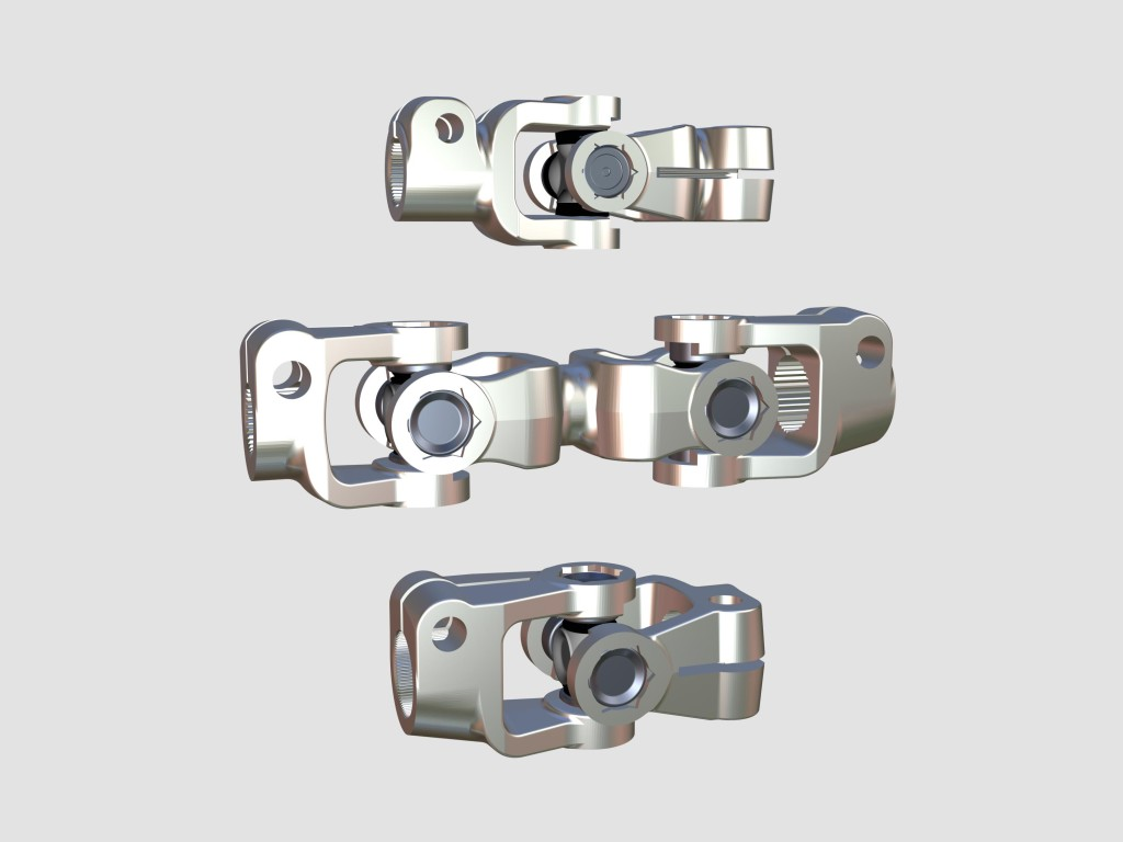 three universal joints